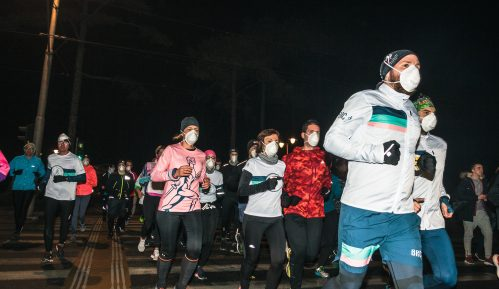 Trkači Beograda trčali sa maskama 7