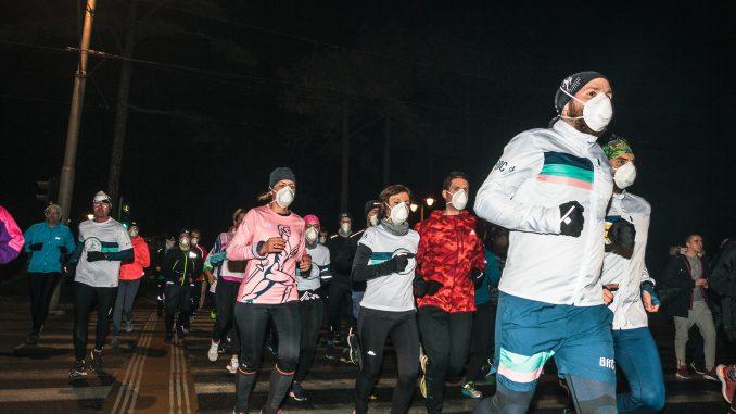 Trkači Beograda trčali sa maskama 2