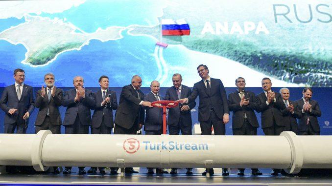 Neizvestan rok za dotok gasa Turskim tokom u Srbiju 2