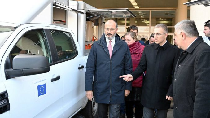 Evropska unija donirala MUP-u 18 vozila 2