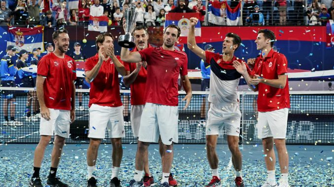 Srbija osvojila prvi ATP Kup u Australiji 1