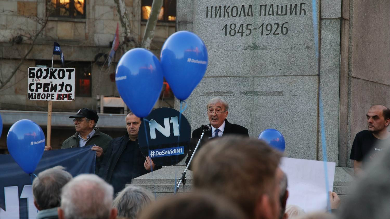 Čupić: N1 je sveća i plamen u medijskom mraku Srbije 2