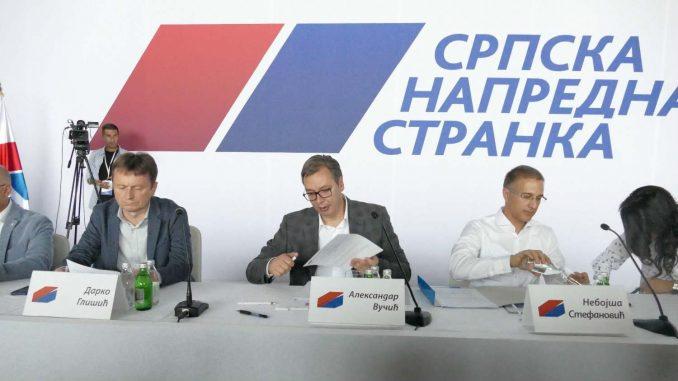Vučićevo ime biće na svim izbornim listićima 2