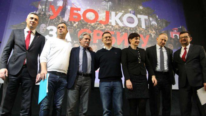 Opozicija planira završni skup na izborni dan 1