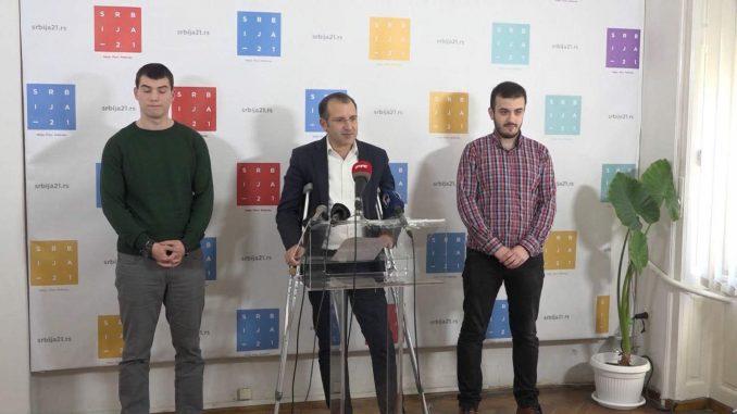 Srbija 21 izlazi na parlamentarne izbore 2