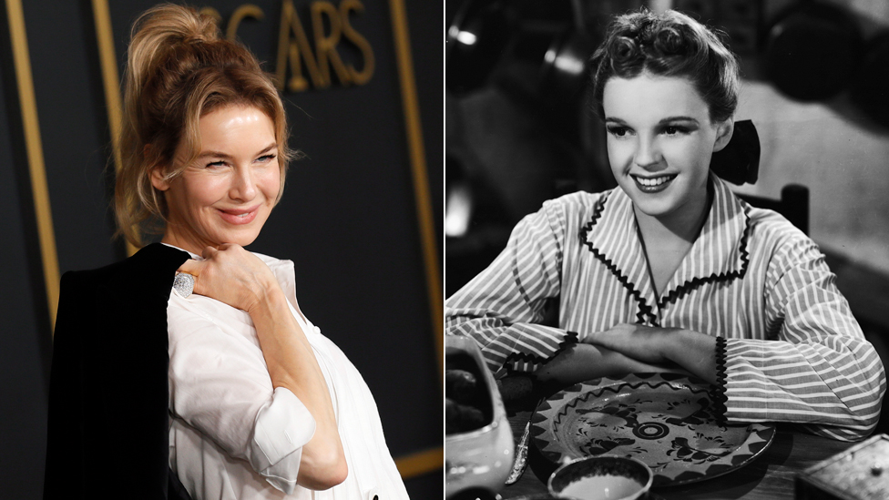 Rene Zelveger bi za tumačenje Džudi Garland (desno iz 1956. godine) mogla da osvoji nagradu za najbolju glavnu žensku ulogu