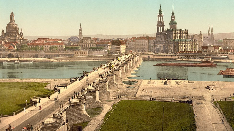 Image of Dresden from 1900