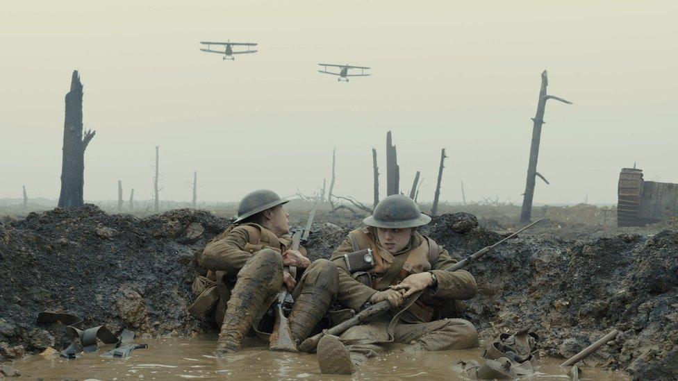 Slika iz filma 1917