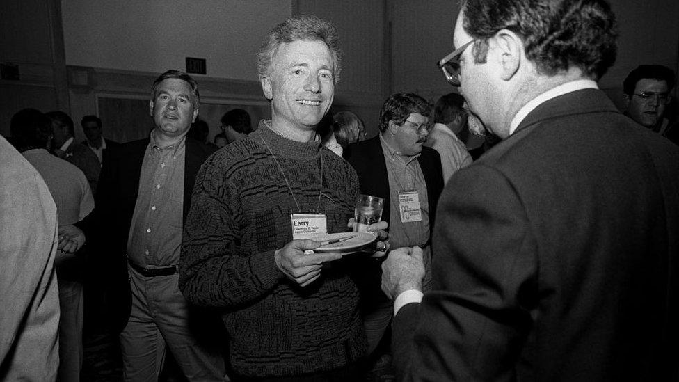 Leri Tesler na fotografiji iz 1991.