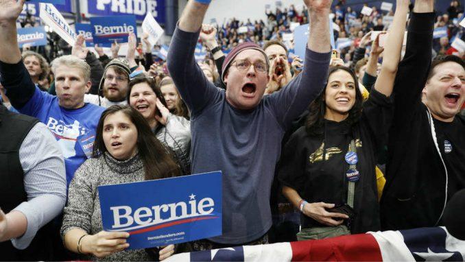 Berni Sanders sam protiv svih 3