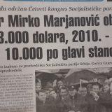 Mirko Marjanović za 2020. predviđao 10.000 dolara BDP po stanovniku 7