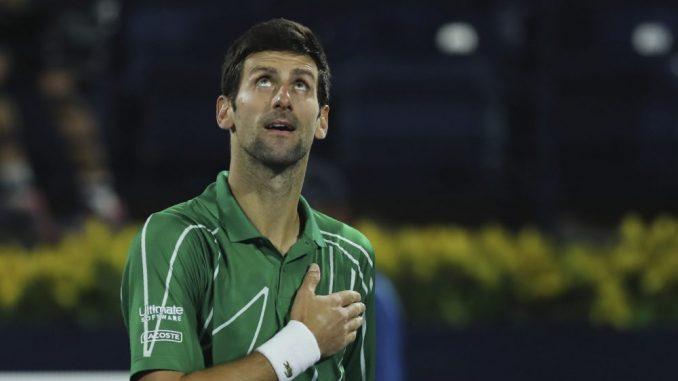 Đoković osvojio petu titulu u Dubaiju 1