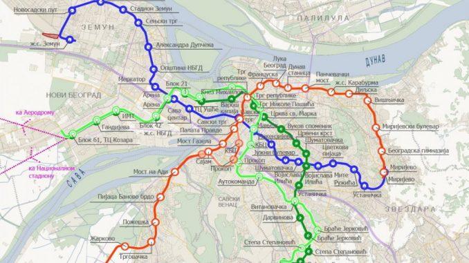 Beobuild: Metro trasa na ispitu 1