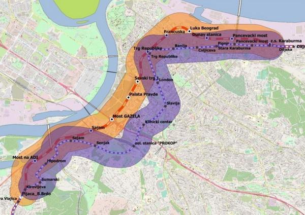 Beobuild: Metro trasa na ispitu 2