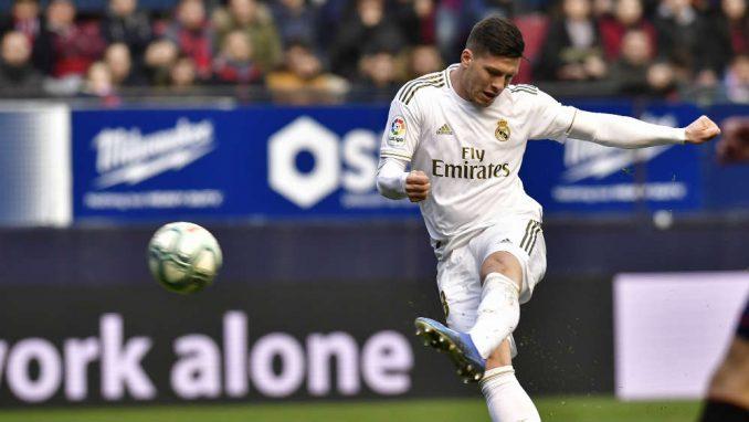 Luka Jović se oporavio i trenirao sa igračima Reala 1