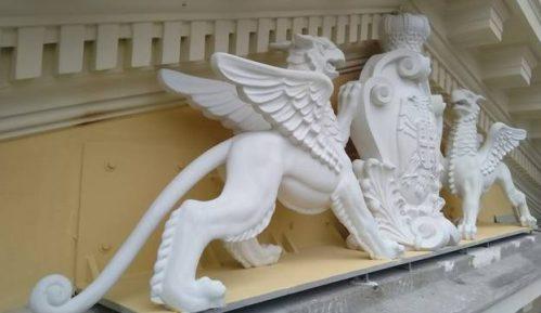Grb Kraljevine Srbije sa grifonima ponovo na zgradi Glavne železničke stanice 5