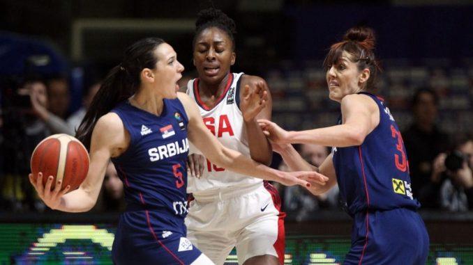 Srpske košarkašice izgubile od SAD na početku kvalifikacionog turnira za OI 4