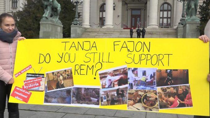 UZUZ pita Fajon da li i dalje podržava REM koji ne reaguje na prijave zbog nasilja u rijalitijima 4