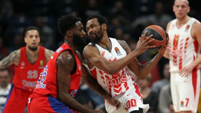 Zvezda poražena od CSKA Moskve u Beogradu 2