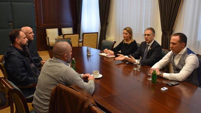 Stefanović sa veteranima razgovarao o obuci mladih policajaca 4