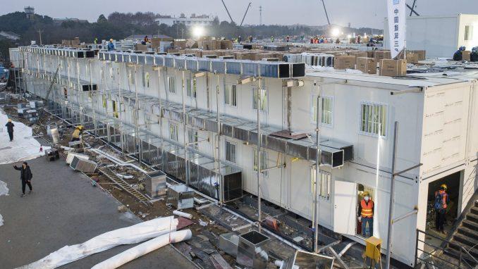 Počela sa radom kineska bolnica sagrađena za 10 dana 4