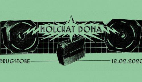 Beloruski bend Molchat Dom u klubu Dragstor 9
