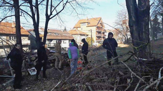 UZUZ: Investitori uprkos vanrednom stanju pokušali da započnu radove u parku na Čukarici 4