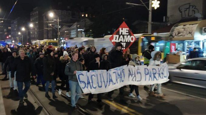 """Dobitnici ekološke nagrade """"Zeleni list"""" inicijativa """"Sačuvajmo naš parkić"""" i Udruženje za zaštitu ustavnosti 3"""