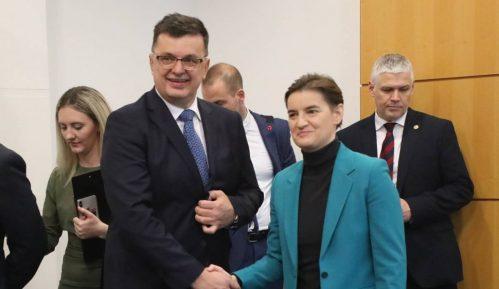 Brnabić i Tegeltija razgovarali o unapređenju saradnje Srbije i BiH 1