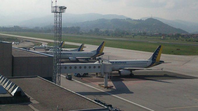 Aerodrom Sarajevo poslednji na listi  po broju prometa 3
