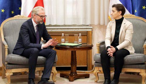 Brnabić i ambasador Austrije o politici proširenja EU 15
