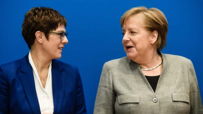 Kramp Karenbauer neće biti naslednica Merkelove 4