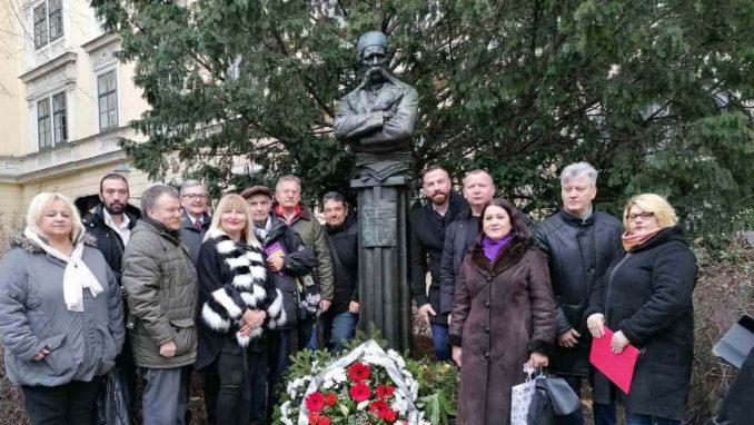 U Beču Srbi obeleželi godišnjicu smrti Vuka Stefanovića Karadžića 1