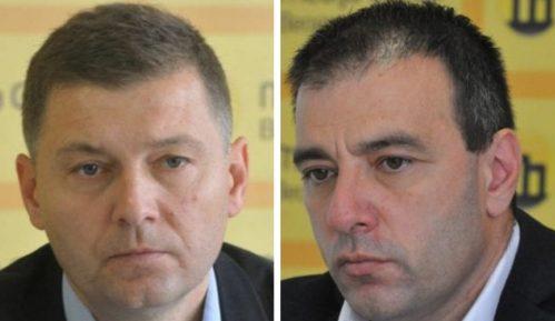 Saša Paunović i Nebojša Zelenović zaustavili izborne aktivnosti 13