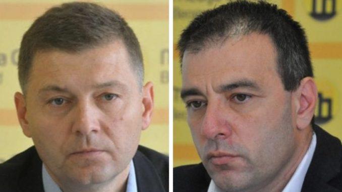 Saša Paunović i Nebojša Zelenović zaustavili izborne aktivnosti 2