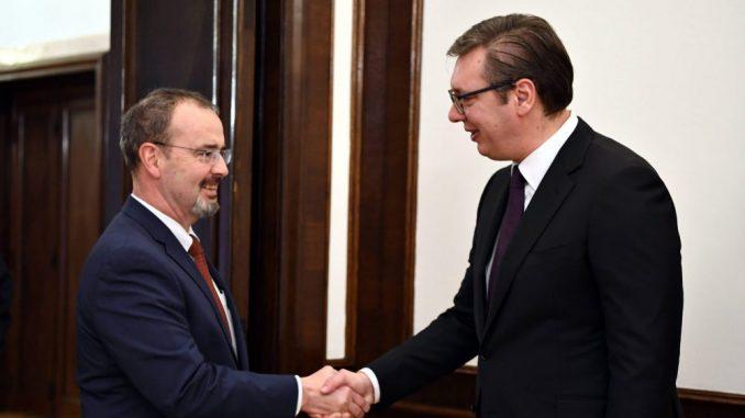 Tramp čestitao Dan državnosti Srbije, Vučić i Godfri o Trampovom planu za Bliski istok 3