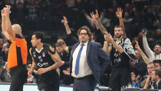 Košarkaši Partizana pobedili Budućnost 4