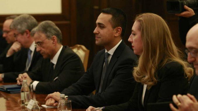 Di Majo Vučiću: Italija će učiniti sve da ubrza proces priključenja Srbije u EU 2