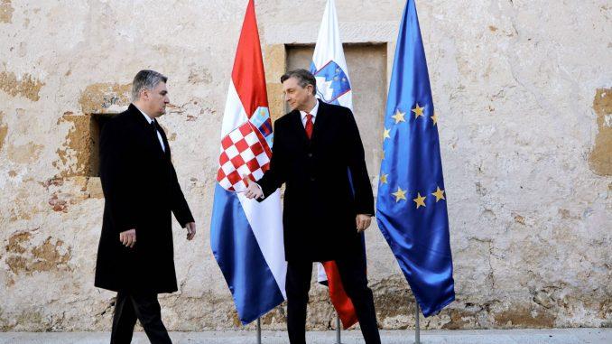 Sastanak predsednika Hrvatske i Slovenije 2