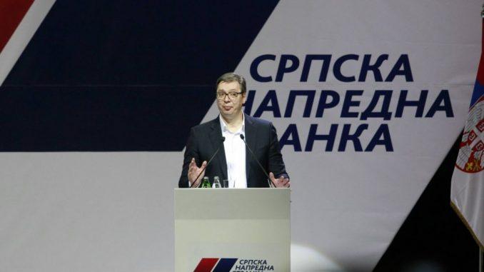 Vučić: Za SNS je svaki rezultat na izborima ispod 48,2 odsto nedovoljno dobar 2
