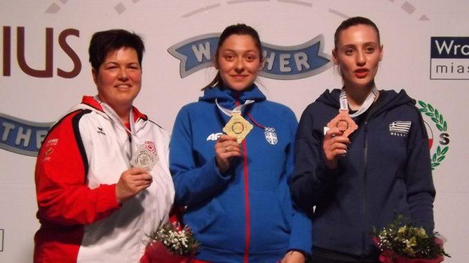 Bobana Momčilović Veličković treći put šampion Evrope 3