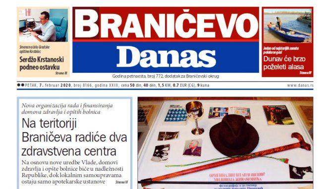 Braničevo Danas - 07. februar 2020. 1