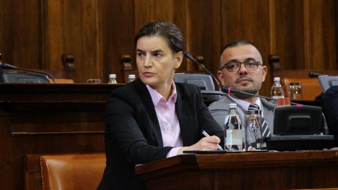 """Brnabić """"prezadovoljna"""" radom tokom svog mandata 2"""