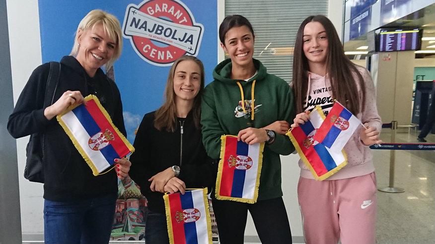 Fed kup tim Srbije otputovao u Luksemburg na takmičenje 2