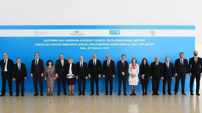 Antić na ministarskom sastanku Saveta Južnog gasnog koridora u Bakuu 1