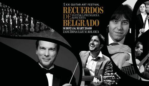 """Svetska premijera koncerta za gitaru i orkestar """"Recuerdos de Belgrado"""" 8"""