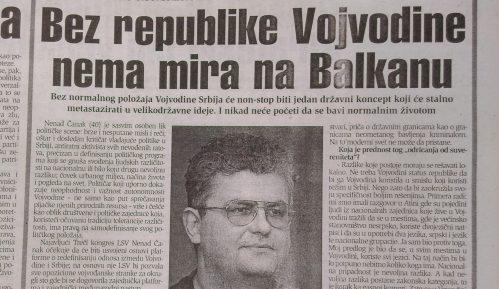 Kako su LSV i Nenad Čanak pre dve decenije tražili Republiku Vojvodinu? 12