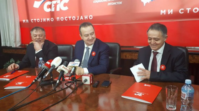 Ivica Dačić: Nastavak saradnje sa SNS, a možda i zajednička izborna lista 5