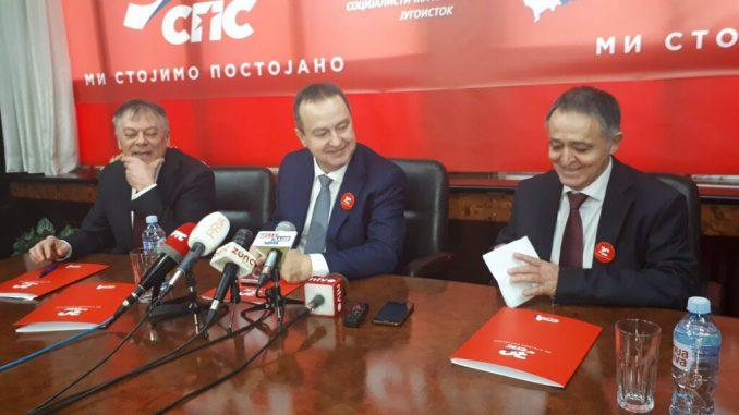 Ivica Dačić: Nastavak saradnje sa SNS, a možda i zajednička izborna lista 3
