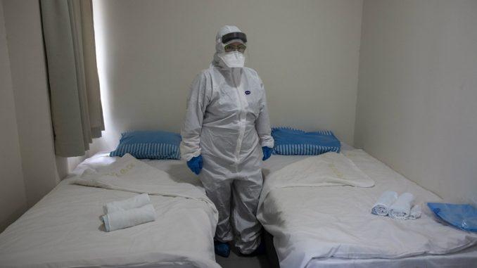 Južna Koreja testira putnike za korona virus 3